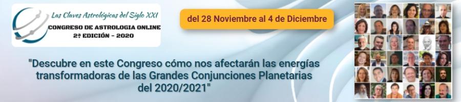 Congreso de astrología on line 2020
