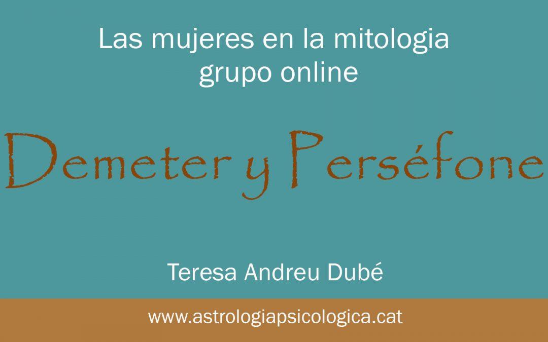 Demeter y Perséfone. La dependencia y la crisis